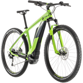 Cube Reaction Hybrid ONE 400 Elcykel MTB Hardtail grön